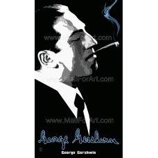 Gershwin  Portrait - print digital art