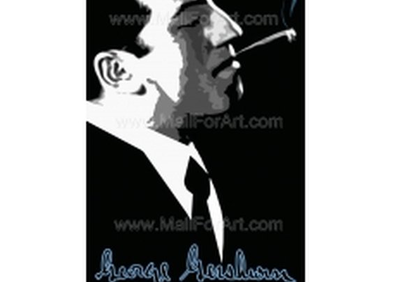 Gershwin  Portrait - print digital art