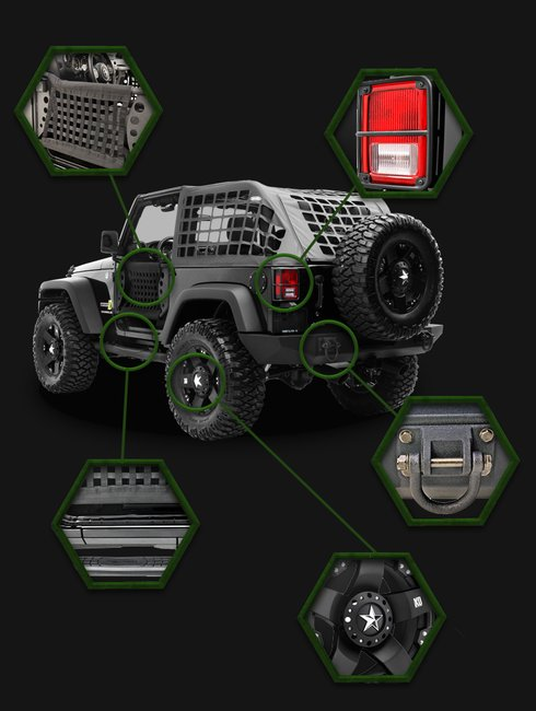 Zombie Slayer: Jeep ZS1 Limited Edition