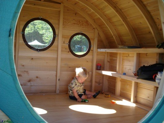 Hobbit Holes by Wooden Wonders bring Tolkien architecture to life