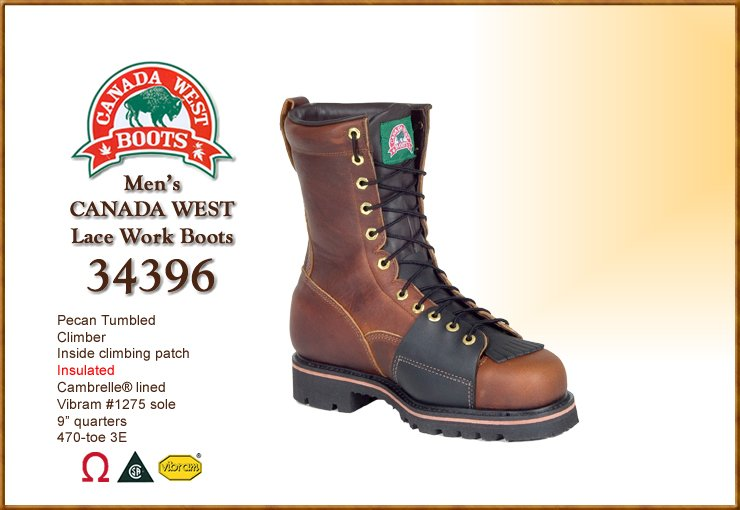 Canada West Boots - 34396