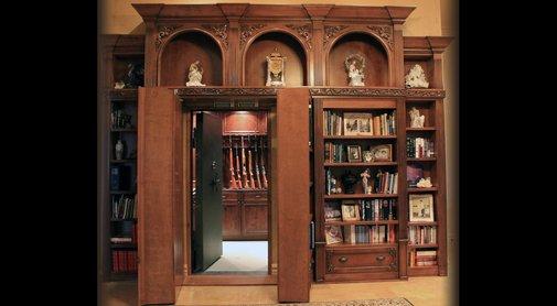 Secret Doors, Hidden Doors, Safe Room, Panic Room, Hidden Safe & Bomb Shelters