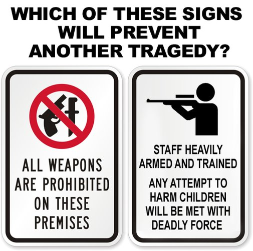 Which of these signs will prevent another tragedy?