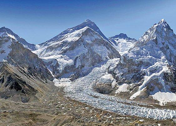 Everest in Two Billion Pixels