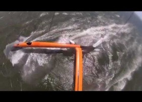VESTAS Sailrocket 2 Smashes the World Speed Record