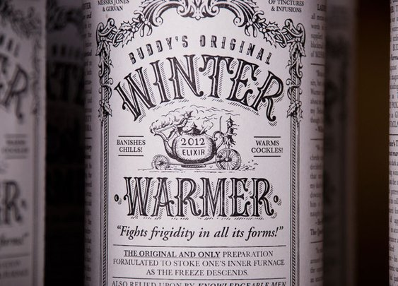 The Original Winter Warmer - The Dieline -