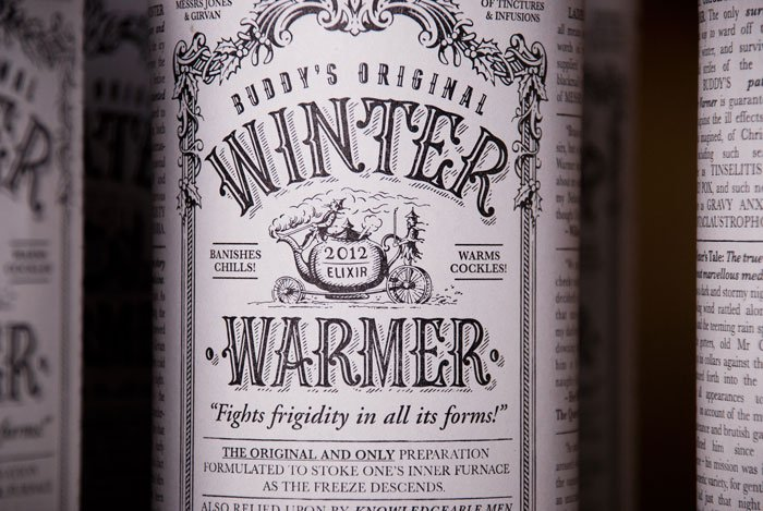 The Original WinterWarmer - The Dieline -