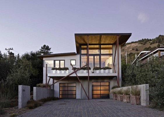 Stinson Beach House by WA Design »  CONTEMPORIST