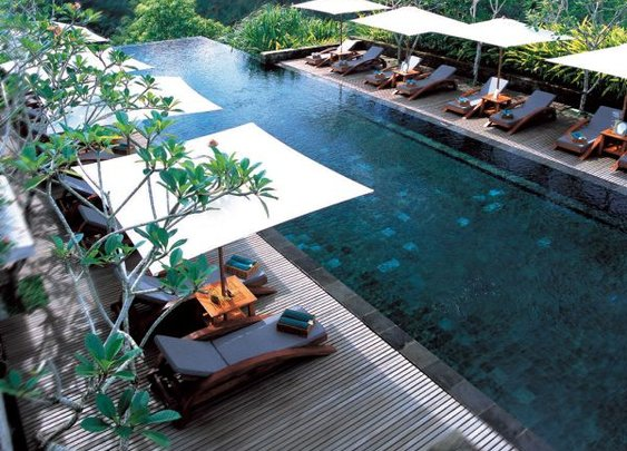 Balinese Ubud Tropical Resort & Spa,  A Beautiful Natural traditional architectural style