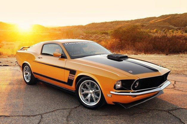 Retrobuilt 1969 Mustang Fastback First Drive