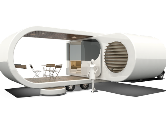 New Zealand's W2 presents Romotow – the fold-out Swiss Army Caravan