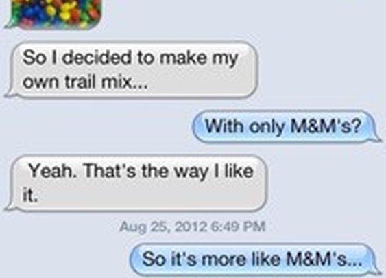 I Made Special Trail Mix! - Cheezburger