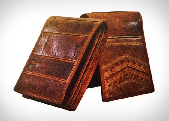 Coach Baseball Glove Wallets | Uncrate - Gentlemint