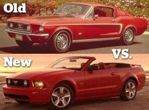 Old vs. New |