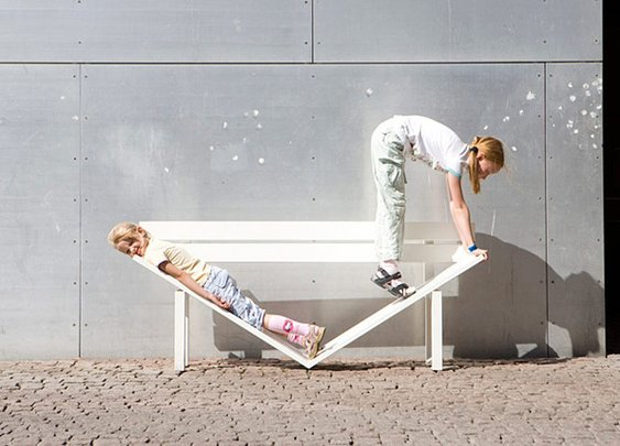 Art in the Park - Social Art Benches