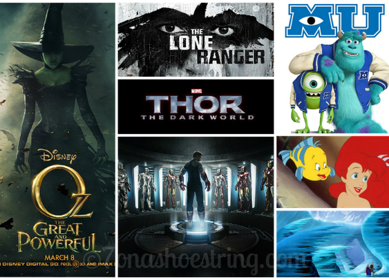 New Releases for Disney in 2013