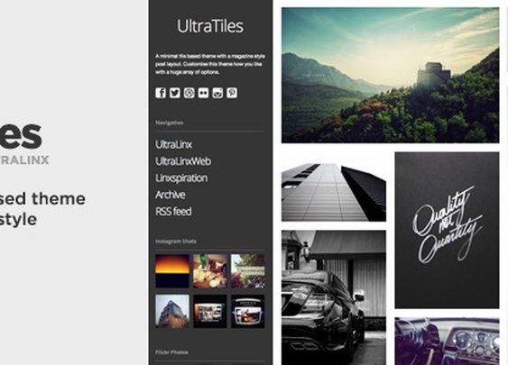 Blogging - UltraTiles - Customizable Magazine Style Theme | ThemeForest