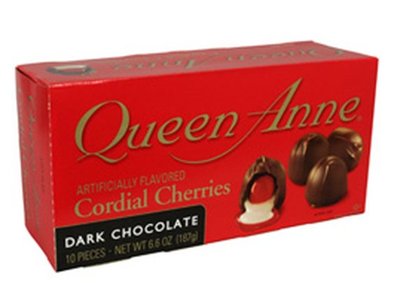 Dark Chocolate Covered Cherries - Queen Anne