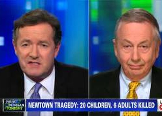 Piers Morgan Schooled By Larry Pratt On Gun Control