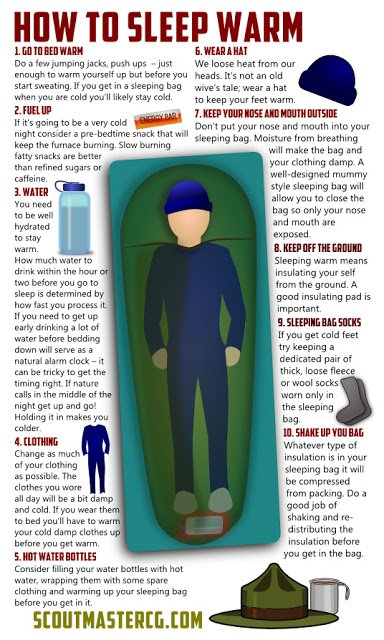 How To Sleep Warm