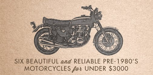 Six Beautiful and Reliable pre-1980's Motorcycles for Under $3000 | Primer