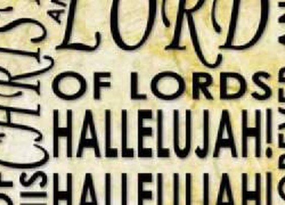 Hallelujah Chorus Kinetic Typography - YouTube