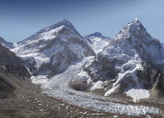 Killer 2 billion pixel photo of Mt. Everest.