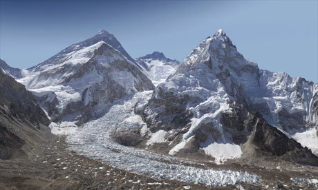 Killer 2 billion pixel photo of Mt. Everest.