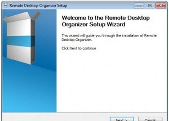 Remote Desktop Organizer for Windows 7