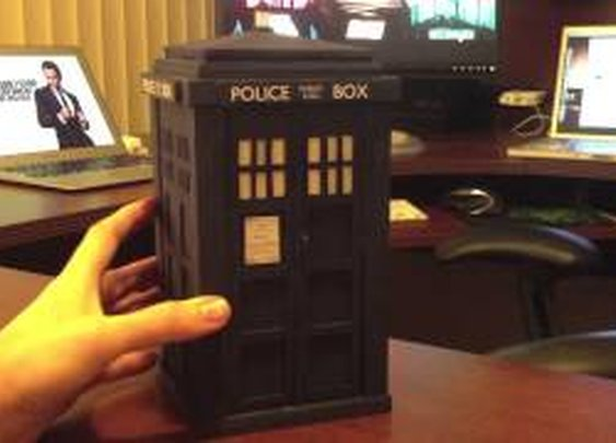 The Augmented Reality Tardis: It's Bigger On The Inside - YouTube