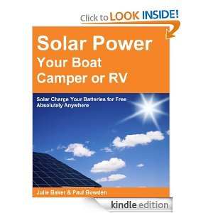 Free Kindle Book - Solar Power your Boat, Camper or RV - Solar Charge your Batteries for Free Absolutely Anywhere   Your Camping Expert