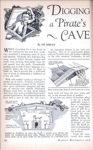 Digging a Pirate's Cave (1929)
