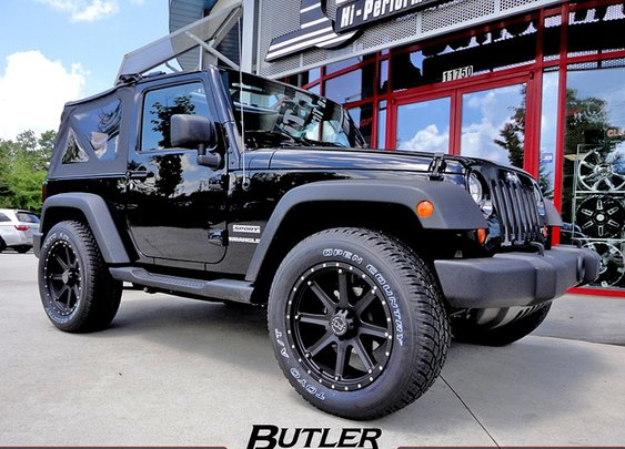 Jeep Wrangler with 20in Black Rhino Moab Wheels | Flickr - Photo Sharing!