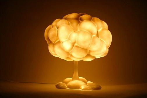 Mushroom Cloud Lamp | That Should Be Mine