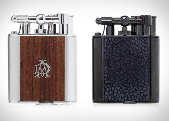Alfred Dunhill Turbo Lighters | Uncrate