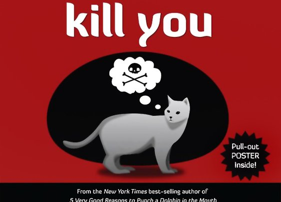 How to Tell if your Cat is Plotting to Kill You Book   That Should Be Mine