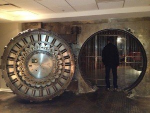 Bank Vault Door in Apartment Building | StashVault