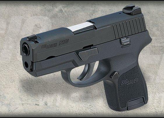 My buddy, my sidekick, the  Sig P250