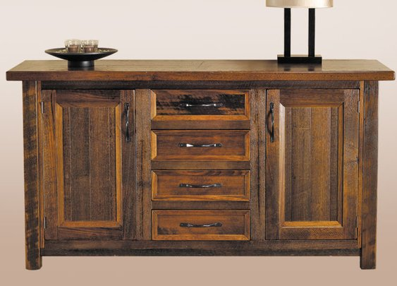 Messmate Hardwood Timber Buffet : Custom Timber Furniture