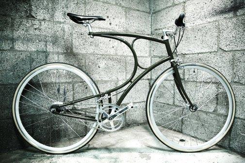 VanHulsteijn bicycle - Olive, 2012