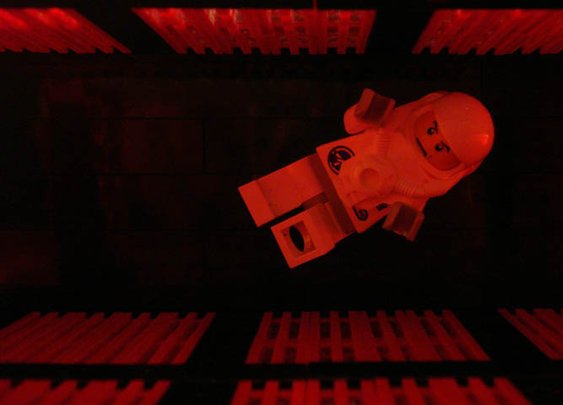 Recreating Famous Movie Scenes with Lego