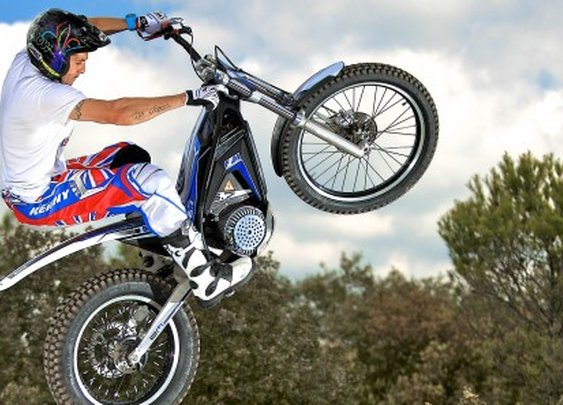 Electric Motion's EM 5.7 electric trials bike built for competition and leisure riding