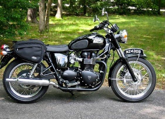 2005 Triumph Bonneville Black
