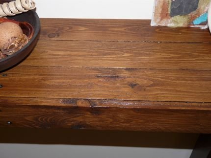 Hall table from an old pallet - JUNKMARKET Style