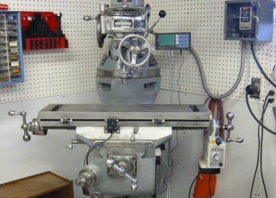 Restored Bridgeport Milling Machine