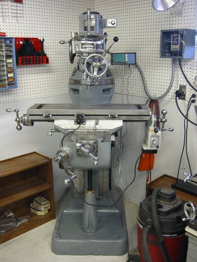 Restored Bridgeport Milling Machine