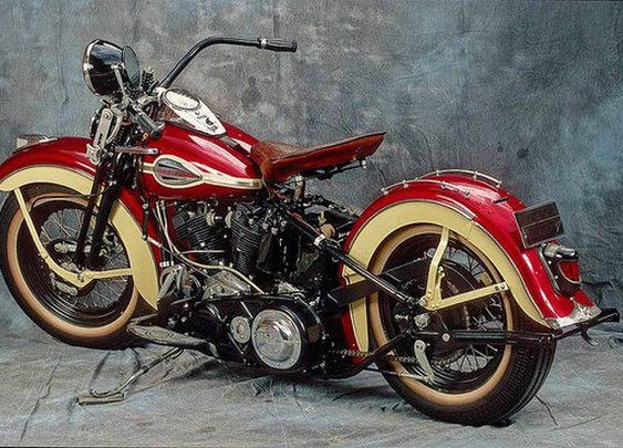 Early 40's Harley-Davidson Knucklehead