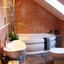 Under Staircase Bathroom Design, Under Stairs Bathroom Planning