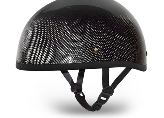 D.O.T. Approved Ultra Low Profile Carbon Fiber Motorcycle Helmet