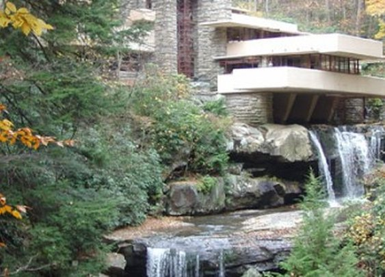 Comfortable Home Architectural Styles close to nature